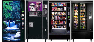Vending machine service, at your facility